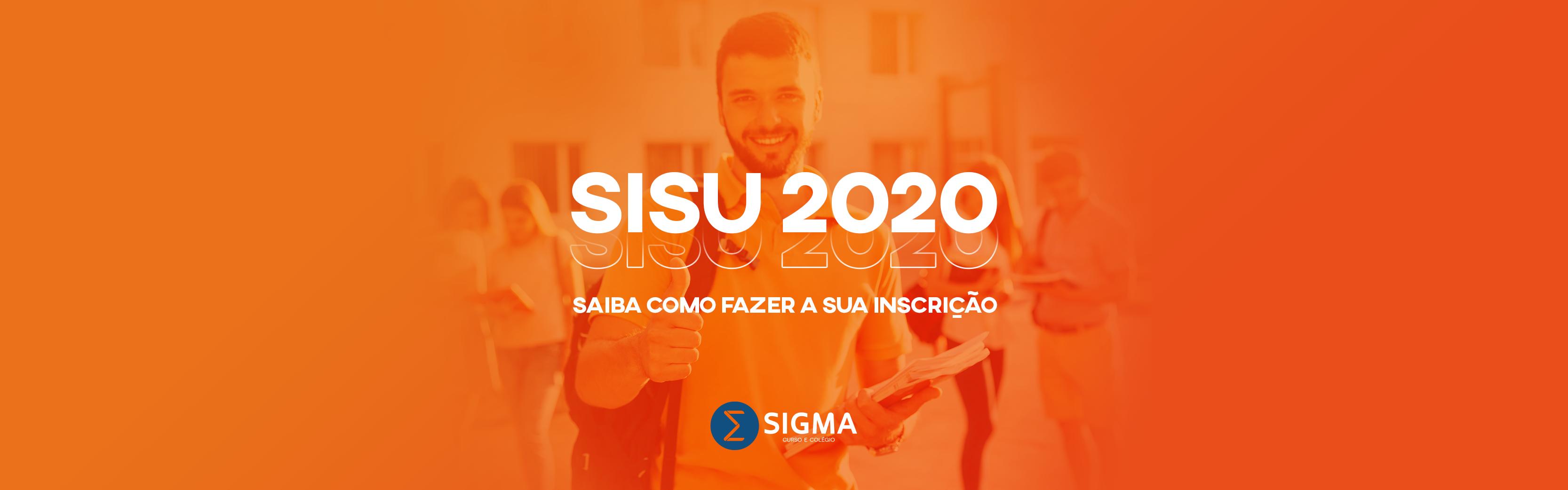 SISU 2020: saiba como fazer a sua inscrição