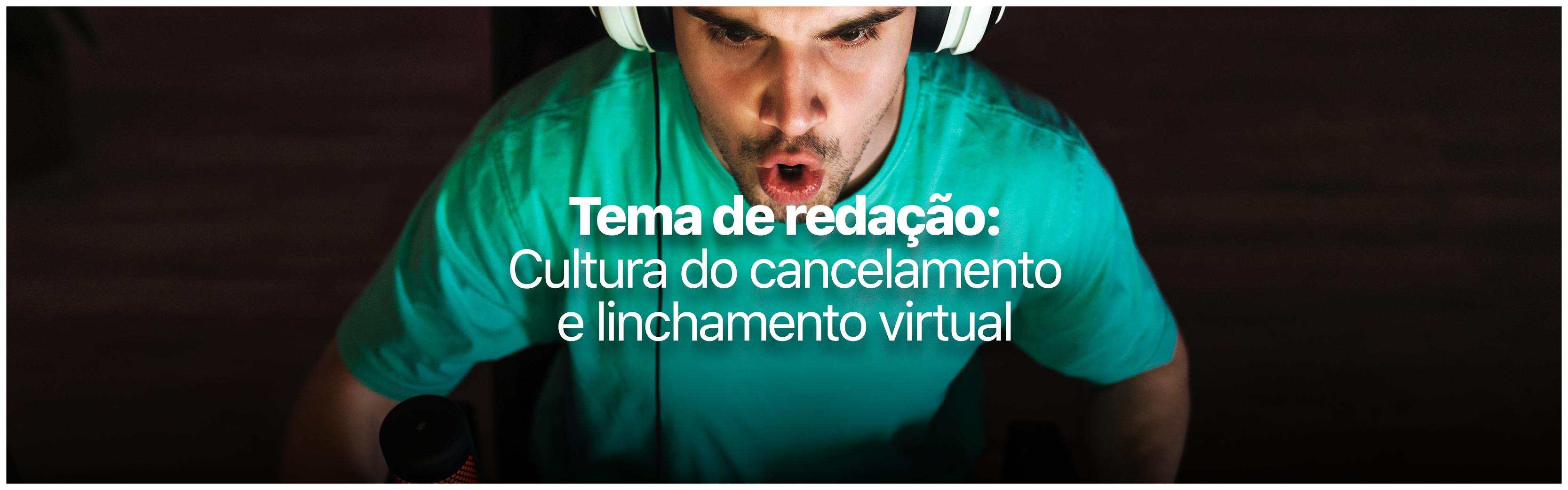 Tema de redação no vestibular: você sabe o que é linchamento virtual?